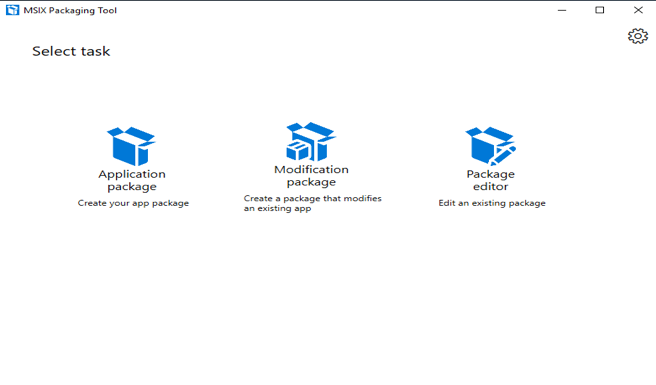 Launch MSIX Packaging Tool from Start Menu